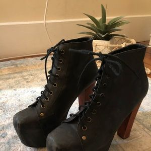 Jeffery Campbell Platform Ankle Bootie